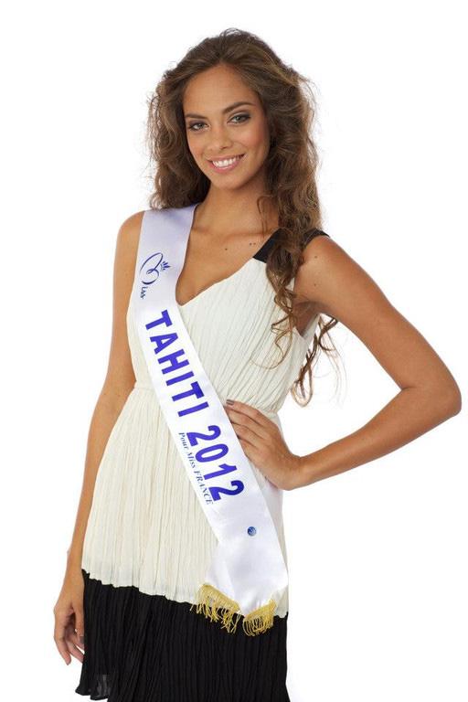 hinarani de longeaux miss tahiti miss france 2013