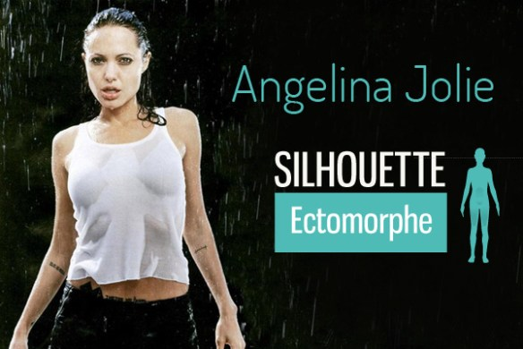 angelina jolie silhouette bio taille poids