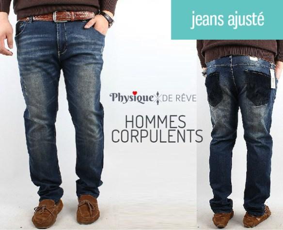 Pantalon-jeans-gros-homme