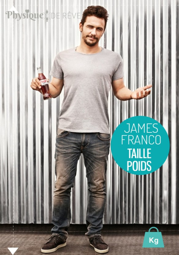 james-franco-taille-poids-muscles