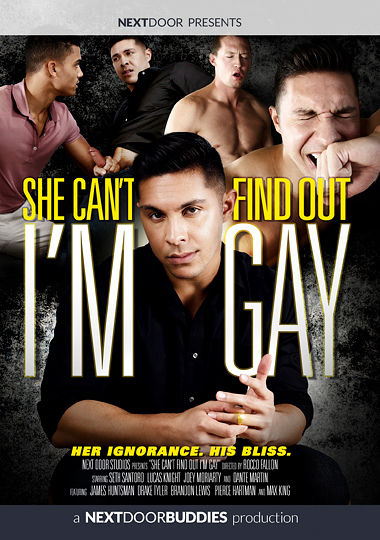 She Can't Find Out Im Gay cover