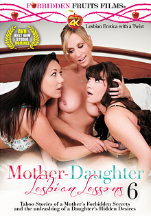 Mother-Daughter Lesbian Lessons 6 cover