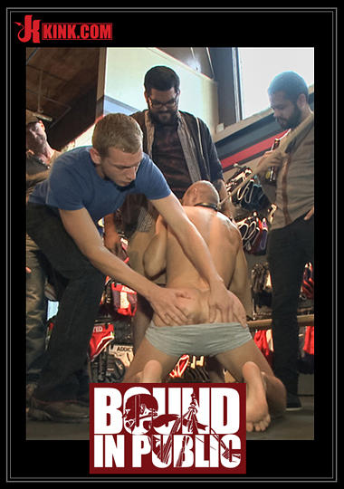 Bound In Public: Cock Hungry Whore Gang Fucked At Mr. S Leather cover