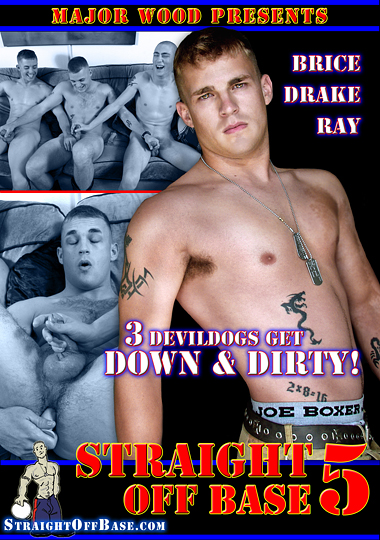 Straight Off Base 5: 3 Devildogs Get Down And Dirty cover