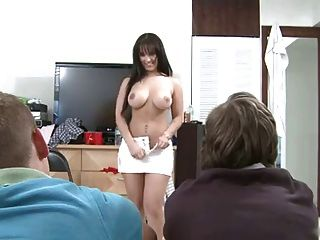 naked humiliation office meeting