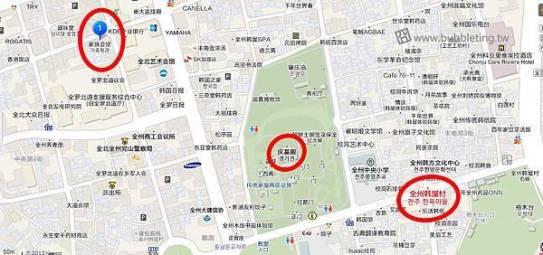 家族會館地圖