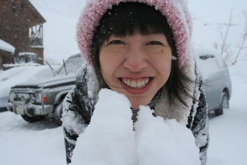 不思議的北海道雪中跨年倒數…Love 比羅夫