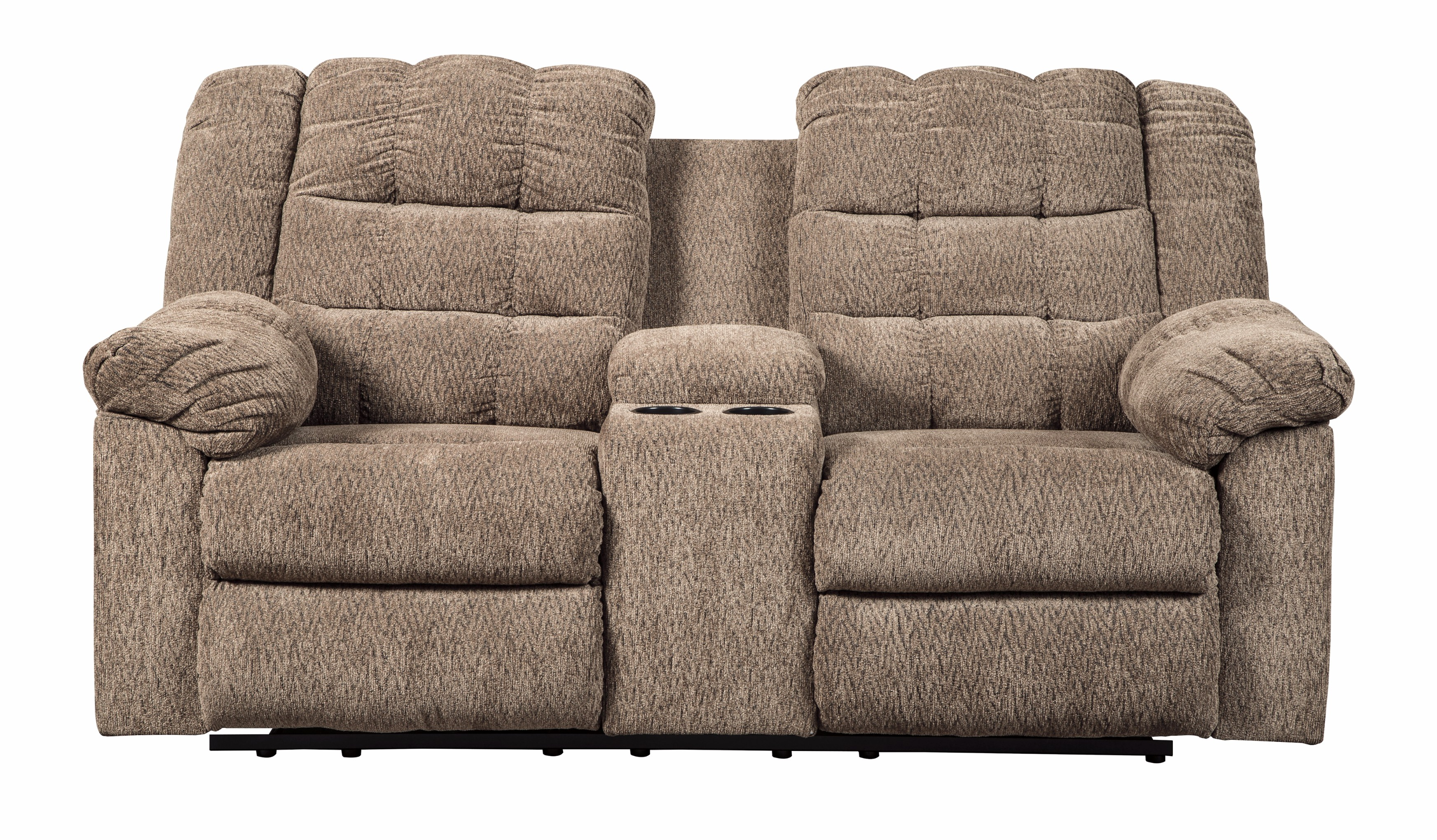 furniture ashley vista chocolate casual 3 piece sectional with of opelousas la 2 6