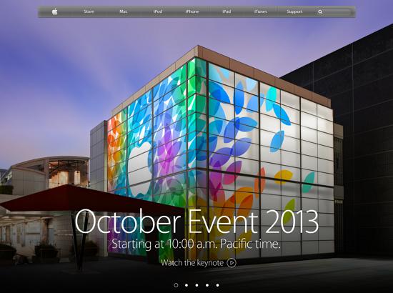 2013 Apple iPad 發表會中文即時轉播 web