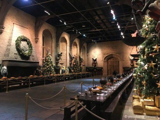 Warner Bros Studio Tour Hogwarts in the Snow