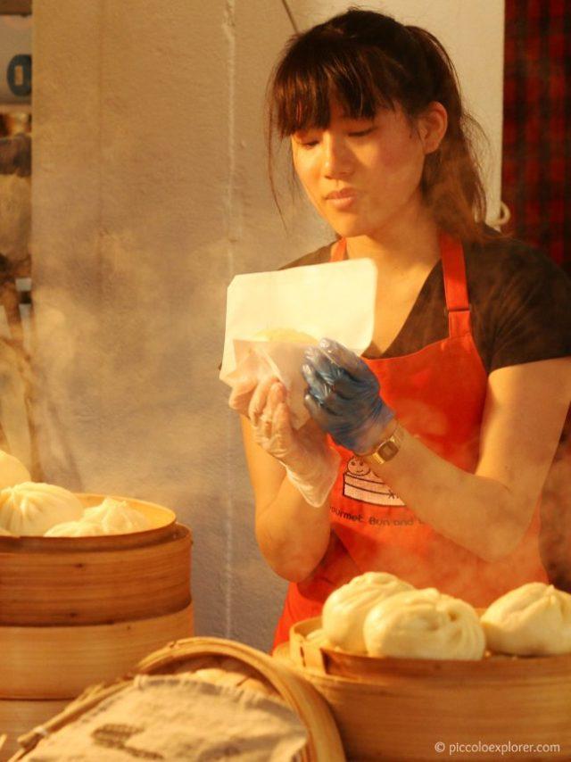 Food Market, Brick Lane, Shoreditch London