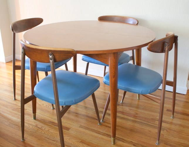mid century dining table and chairs mid century kitchen chairs Mid Century Dining Table And Chairs