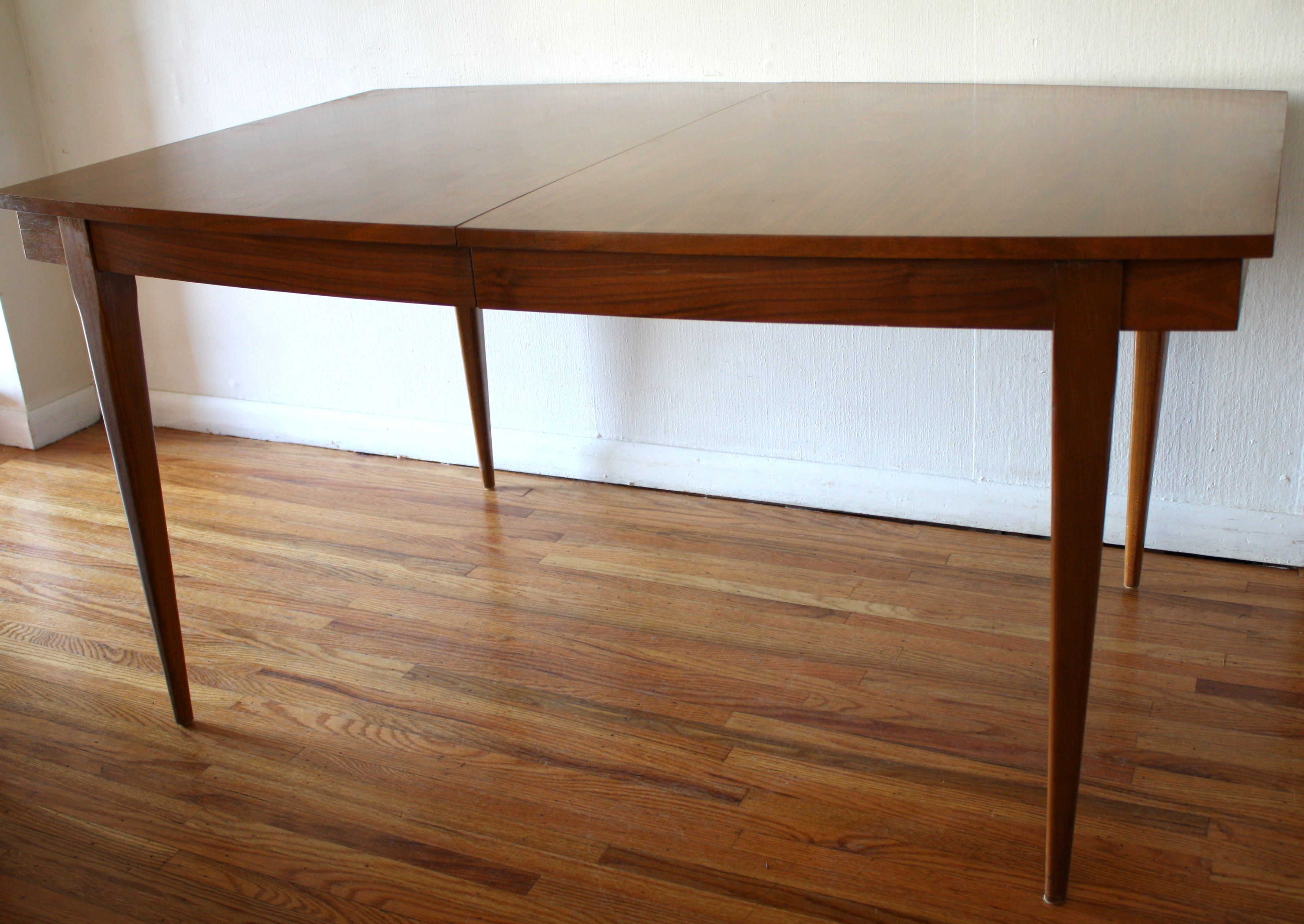 broyhill mid century kitchen table mcm surfboard dining table 4