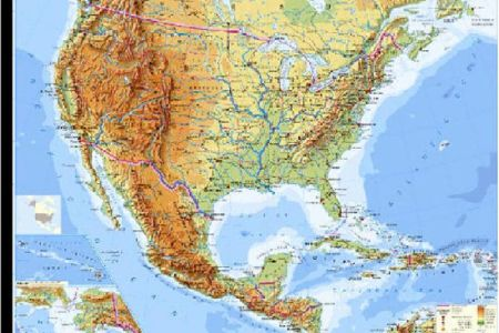 maps of united states rivers and mountains