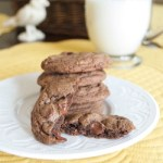 Chocolately Chocolate Chip Cookies