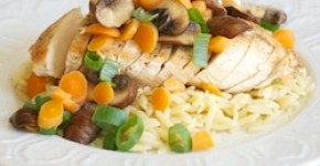 Easy Chicken Fricassee