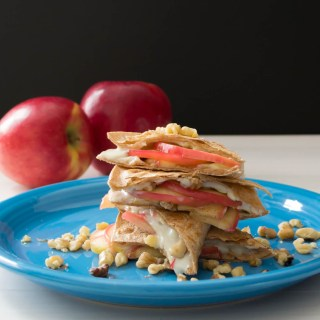 Apple Quesadilla-