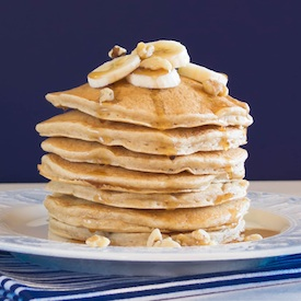 Banana Nut Pancakes | Pick Fresh Foods