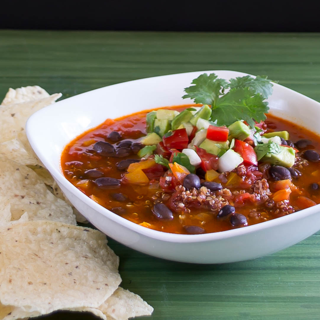 Vegetarian Black Bean Chili | Pick Fresh Foods | Pick Fresh Foods