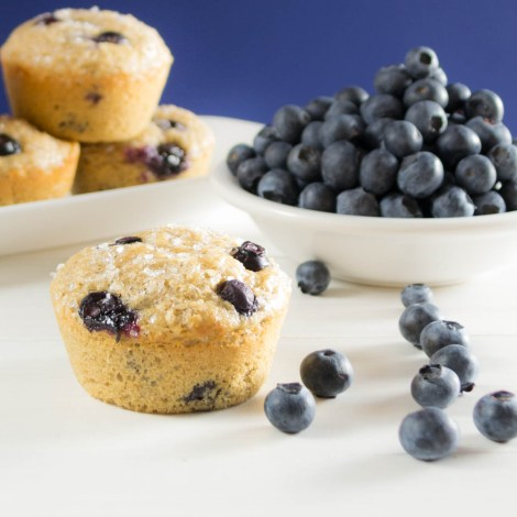 Blueberry Oatmeal Muffins   Pick Fresh Foods