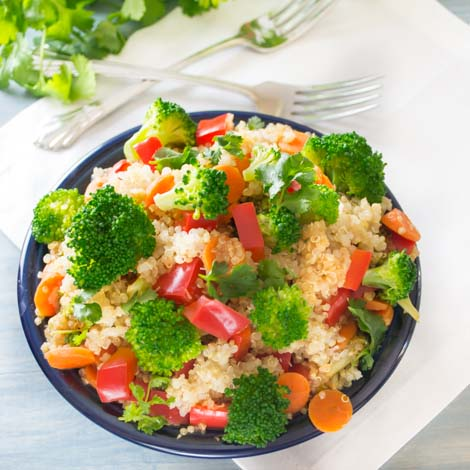 Coconut Quinoa with Vegetables