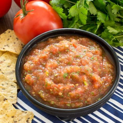 Roasted Tomato Salsa | Pick Fresh Foods