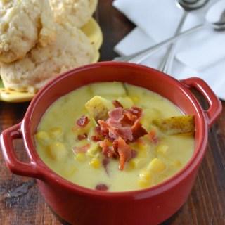 Creamy Corn Chowder-5