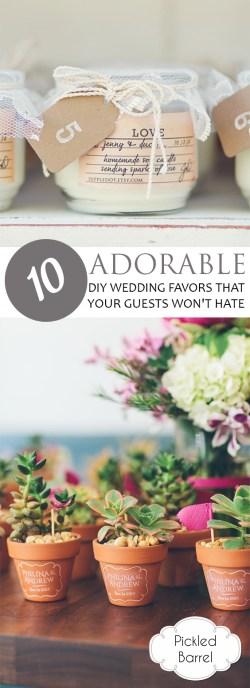 Small Of Diy Wedding Favors