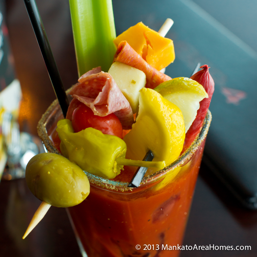 ... there isn't a bloody mary with at least a few pickles on the side