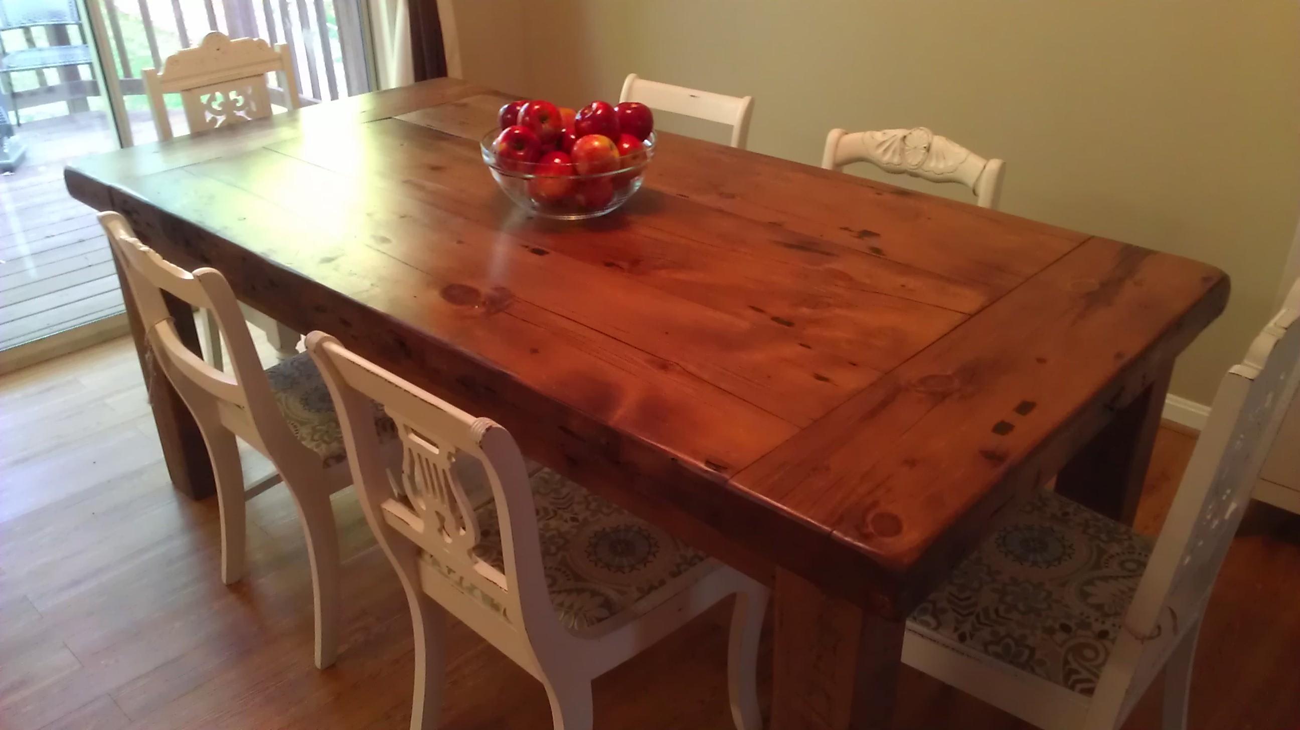 ▻ kitchen table : perfect farm table kitchen farmtable tocktix