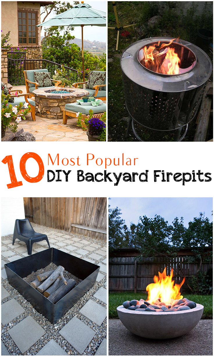10 amazing backyard diy firepits for Amazing outdoor fire pits