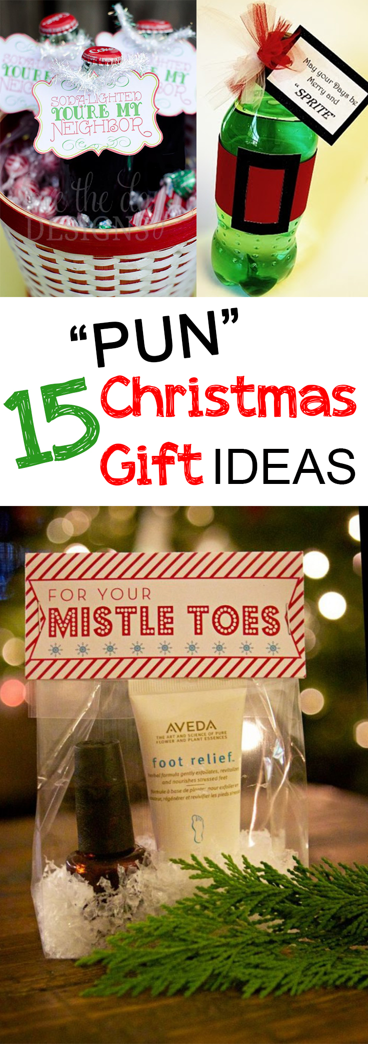 15 pun christmas gifts Easy gift ideas for friends for christmas