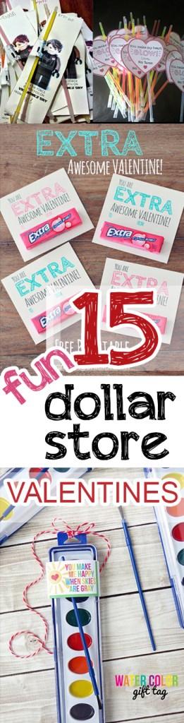15 Fun Dollar Store Valentines