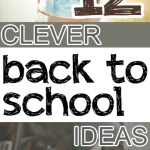Back to school. back to school hacks, DIY back to school, popular pin, back to school organization.