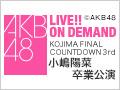 2017年4月19日(水) 小嶋陽菜 卒業公演