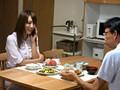 調教の合間に夫と平穏な食事をする美人妻 香西咲