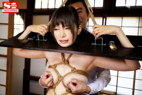 葵 完全緊縛されて無理やり犯された巨乳若妻サンプルイメージ4枚目