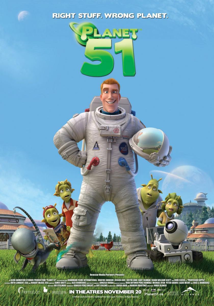 Poster do filme Planeta 51