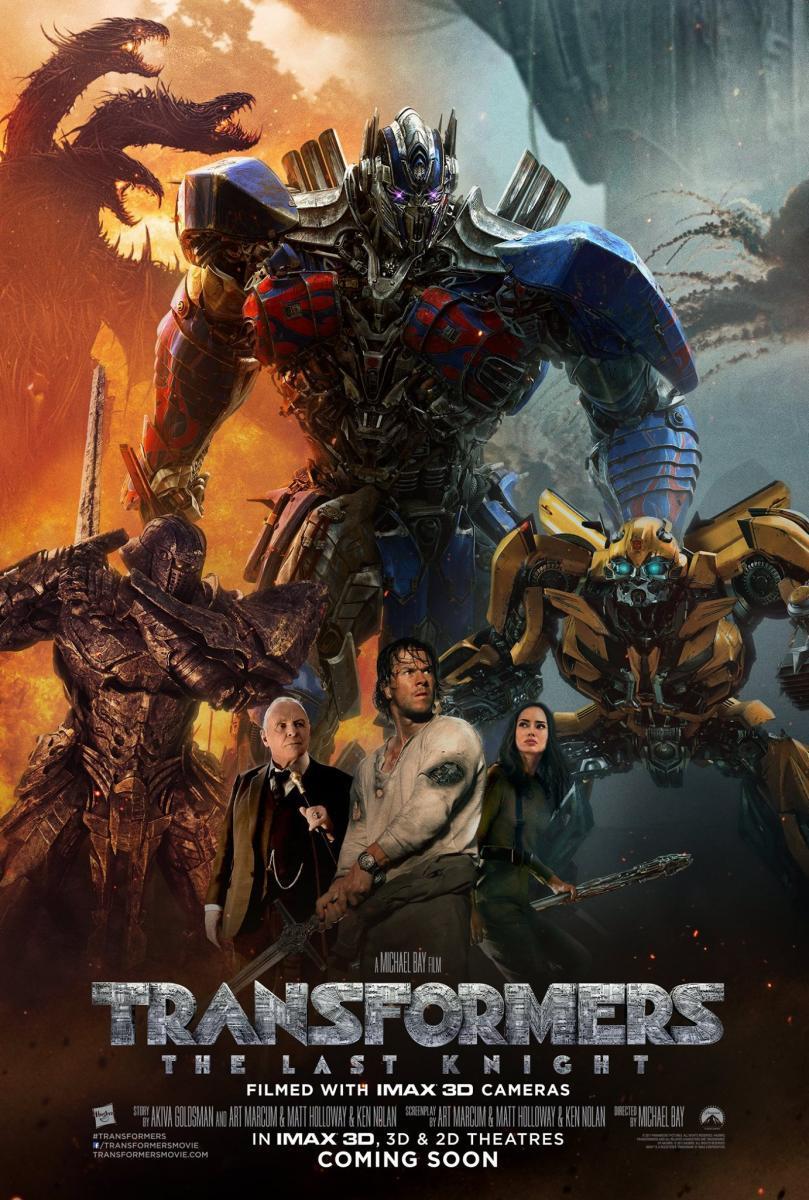 Resultado de imagen para Transformers: El último caballero (2017)