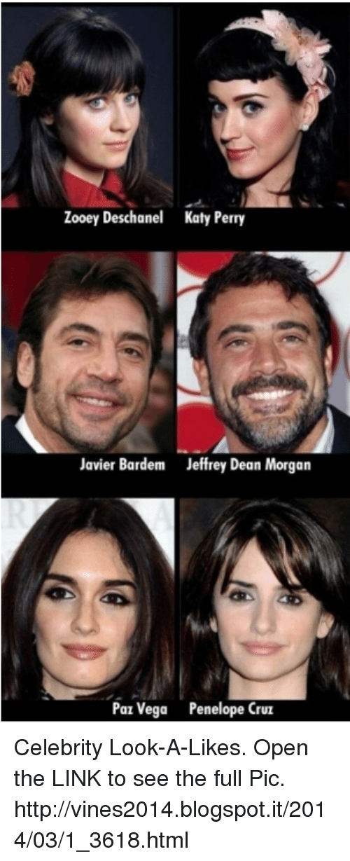 Zooey Deschanel Katy Perry Javier Bardem Jeffrey Dean Morgan Paz     Katy Perry  Memes  and Zooey Deschanel  Zooey Deschanel Katy Perry Javier  Bardem Jeffrey
