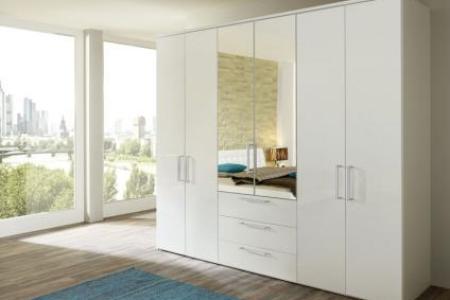 nolte horizont 8000 drehtrenschrank kombination spiegel und holzfront mit schubksten schlafzimmer farbe whlbar