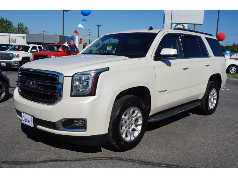 Used 2015 GMC Yukon For Sale in Augusta  ME  Near Brunswick     Used 2015 GMC Yukon SLT SUV Augusta