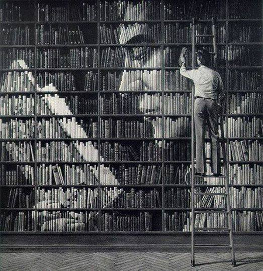 The real art lies in books