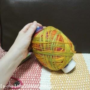 手紡ぎの糸