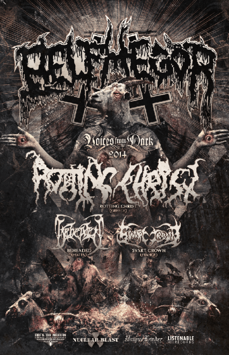 Tour - Belphegor - Headline 2014