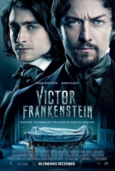 Poster - Victor Frankenstein - 2015