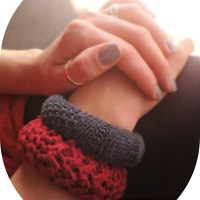 DIY: Cozy Sweater Bracelets