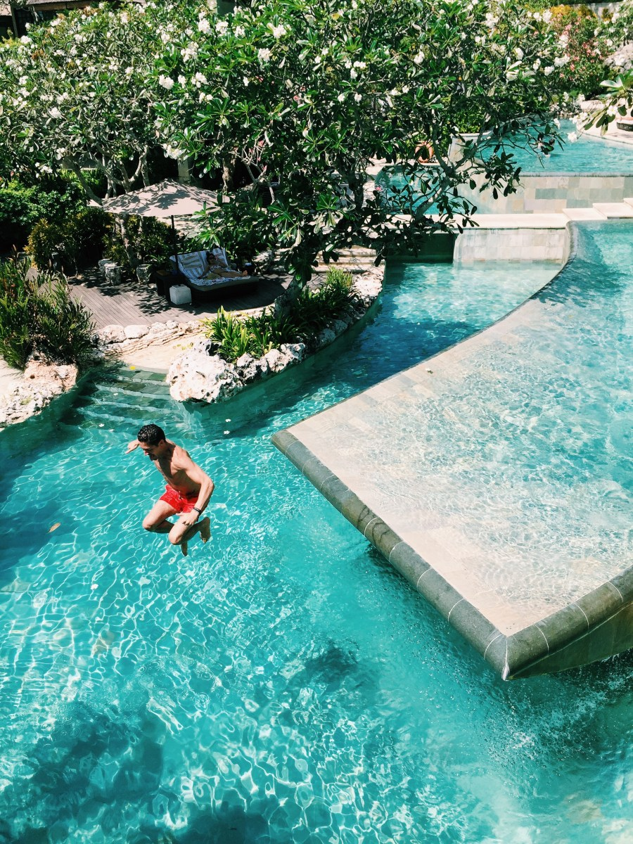 River Pool - Ayana Hotel - BALI