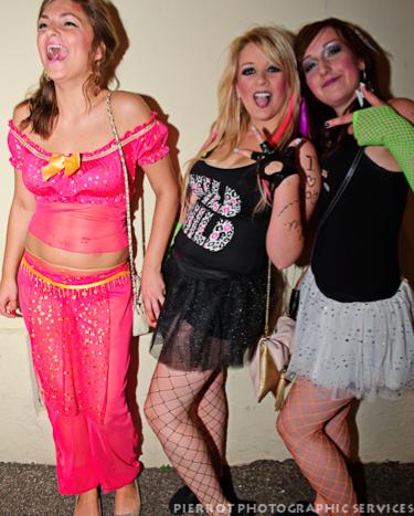 Cromer carnival fancy dress 3 prettty girls