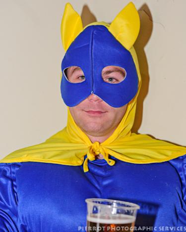 Cromer carnival fancy dress Batman